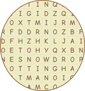 Wordsearch Image 1